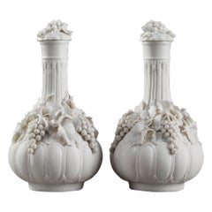 Restauration Pair of Biscuit Perfume Flacons
