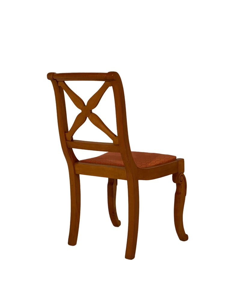Restoration Dining Chairs with Armchairs For Sale 3