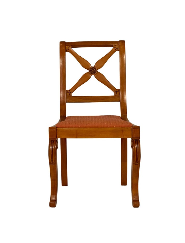 Early 20th Century Restoration Dining Chairs with Armchairs For Sale