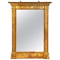 Restoration Giltwood Mirror