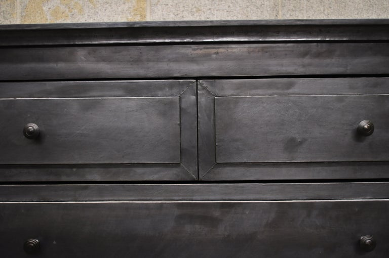 Restoration Hardware Annecy Metal Wrapped 5 Drawer Chest