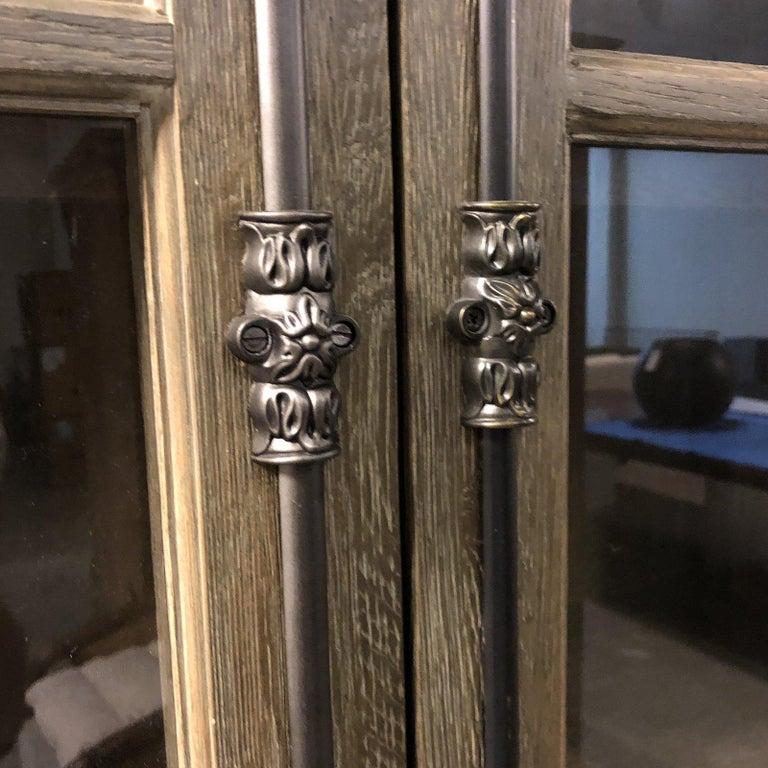 Restoration Hardware French Casement Double-Door Cabinet