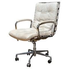 Restoration Hardware Oviedo Leather Desk Chair