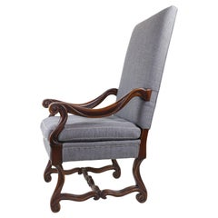 Restoration Hardware Sloped Armchair with High Back