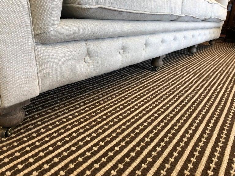 Restoration Hardware Timothy Oulton Kensington Fabric Sofa For Sale 2