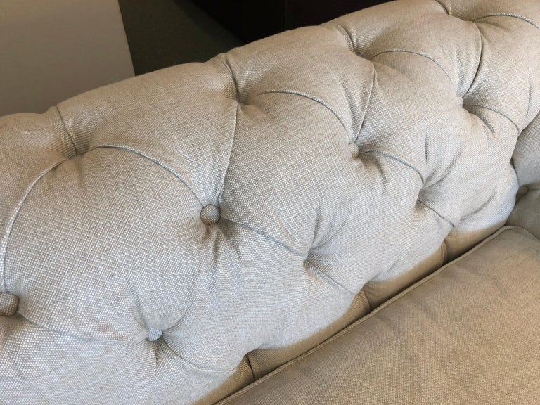 Restoration Hardware Timothy Oulton Kensington Fabric Sofa For Sale 5
