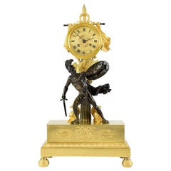 Restoration Period Clock in Bronze