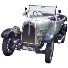 Restored Classic Fiat 501 Torpedo, 1921