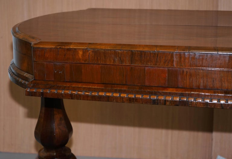 Restored Early Victorian Hardwood Bagatelle Table Ornately Carved Pub Games For Sale 4