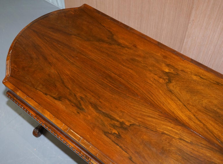 19th Century Restored Early Victorian Hardwood Bagatelle Table Ornately Carved Pub Games For Sale