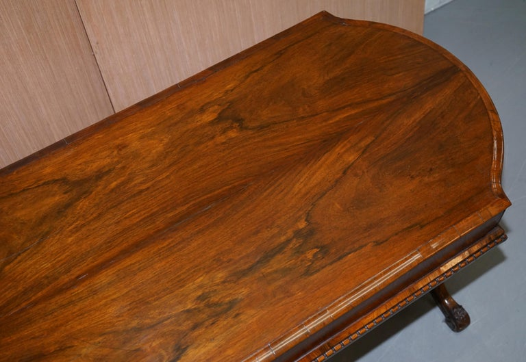 Restored Early Victorian Hardwood Bagatelle Table Ornately Carved Pub Games For Sale 1