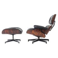 Restored First Gen 1956 Eames Lounge Chair & Ottoman