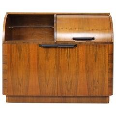 Restored Gramophone Cabinet Designed by Jindřich Halabala, 1950's