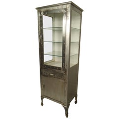 Restored Industrial Display Cabinet