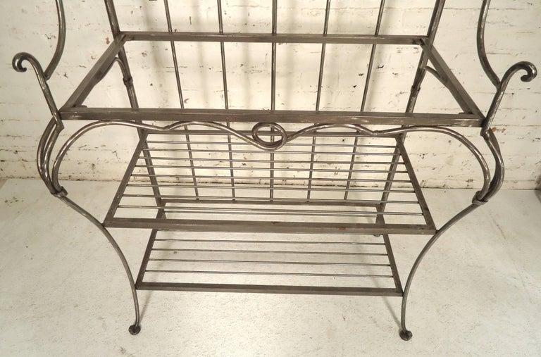 Industrial Restored Kitchen Storage Rack For Sale