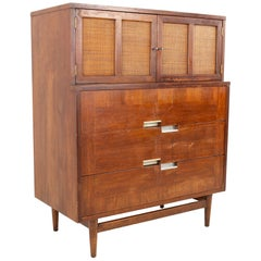 Restored Merton Gershun for American, Martinsville Midcentury Dresser