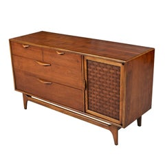 Restored Mid-Century Modern Lane Perception Credenza Buffet