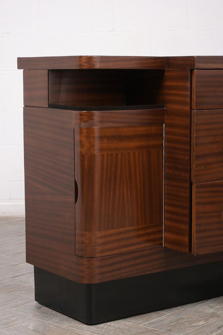 Mid-20th Century  Italian Mid-Century Modern Lacquered Credenza For Sale