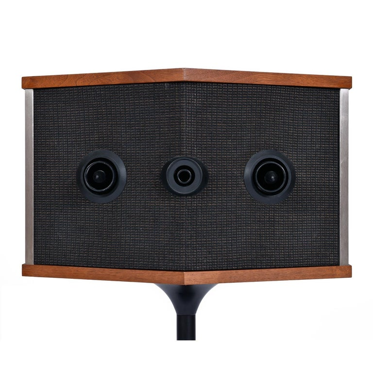 Restored Vintage 1983 Bose 901 Series V Speakers with Tulip Stands and Equalizer 1