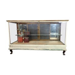 Retail Store Showcase Display Cabinet, circa 1910