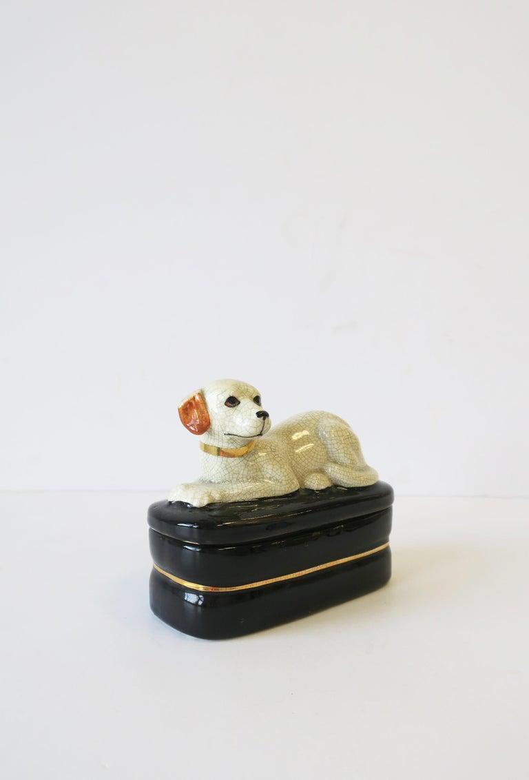 Retriever Dog Trinket or Jewelry Box For Sale 3