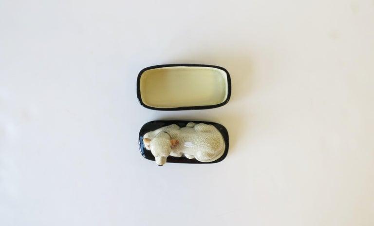Retriever Dog Trinket or Jewelry Box For Sale 4