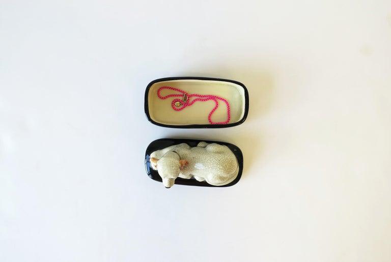 Retriever Dog Trinket or Jewelry Box For Sale 5