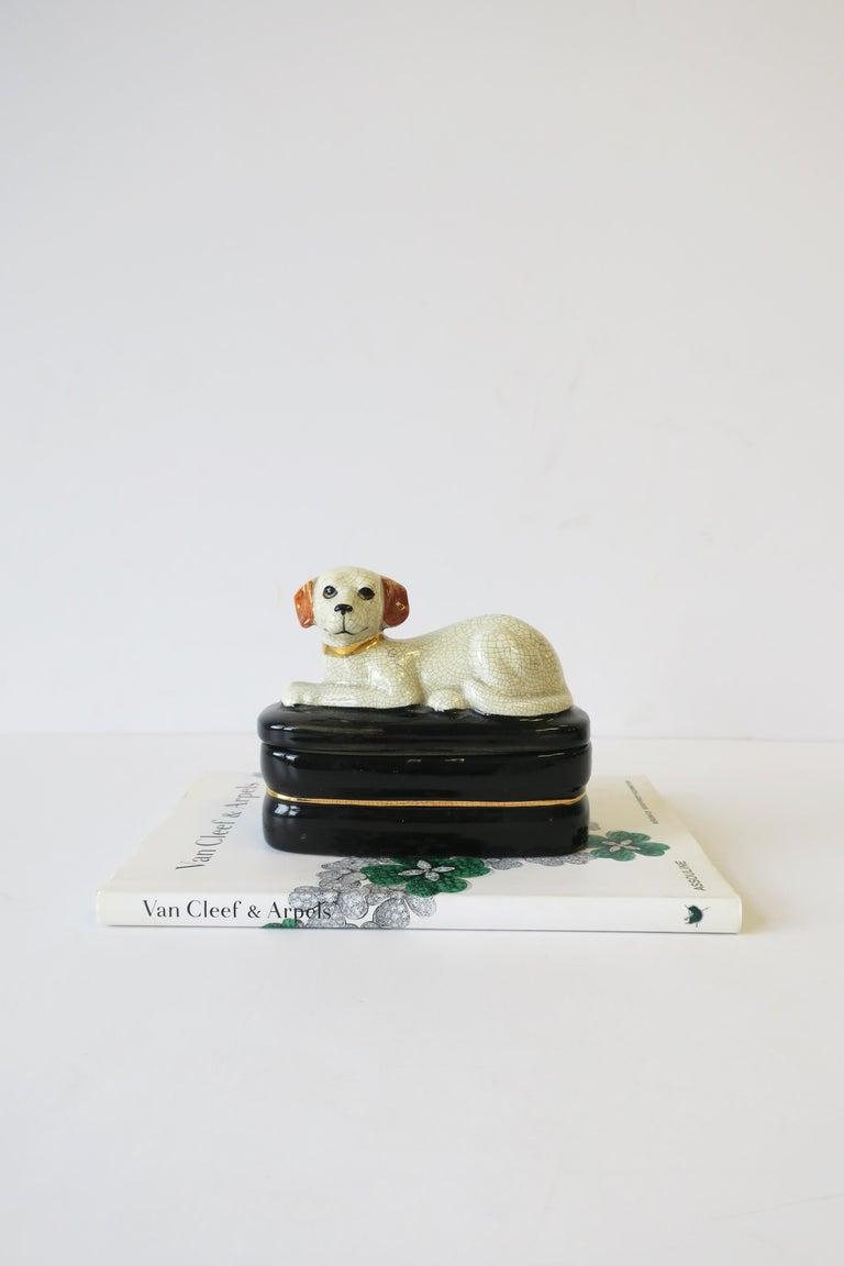 Retriever Dog Trinket or Jewelry Box For Sale 7