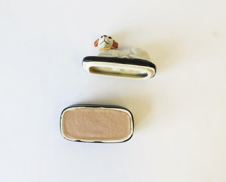 Retriever Dog Trinket or Jewelry Box For Sale 8