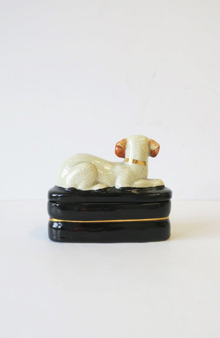 Retriever Dog Trinket or Jewelry Box For Sale 1