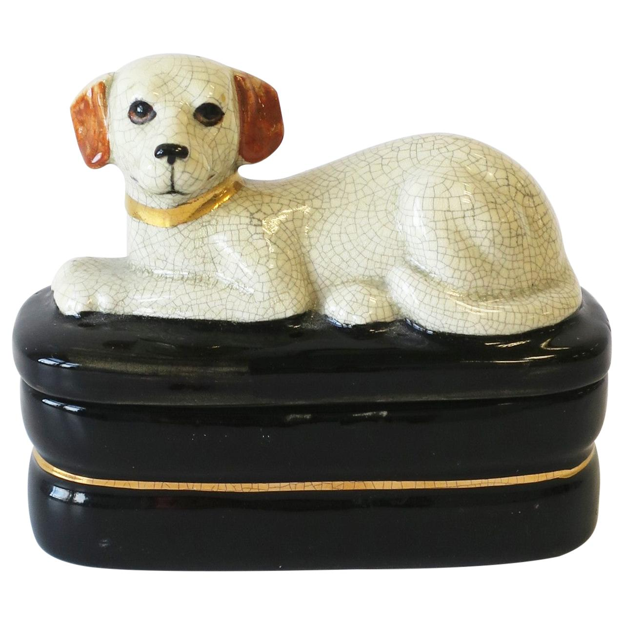 Retriever Dog Trinket or Jewelry Box