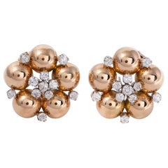 18k Gold Clip-on Earrings