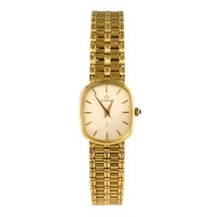 Retro All in 18 Karat Yellow Gold Eterna Women's Watch