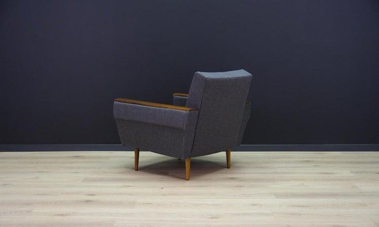 Retro Armchair Scandinavian Design Vintage For Sale 3