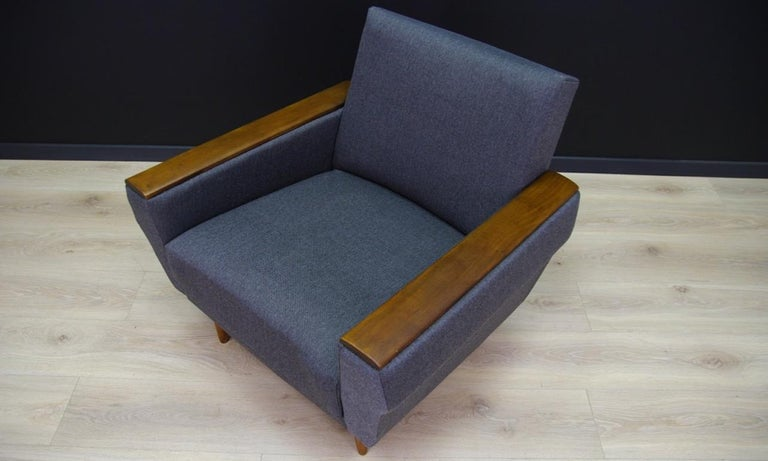 Retro Armchair Scandinavian Design Vintage For Sale 7