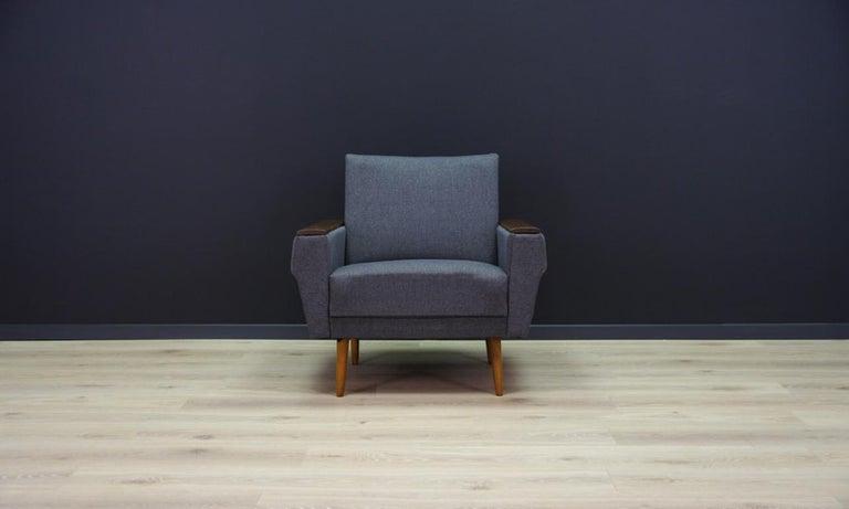 Mid-Century Modern Retro Armchair Scandinavian Design Vintage For Sale