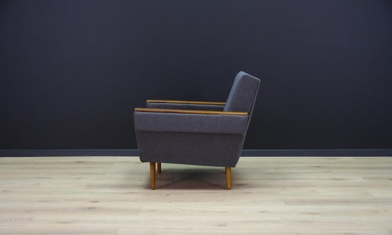 Late 20th Century Retro Armchair Scandinavian Design Vintage For Sale