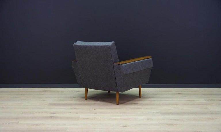 Retro Armchair Scandinavian Design Vintage For Sale 2