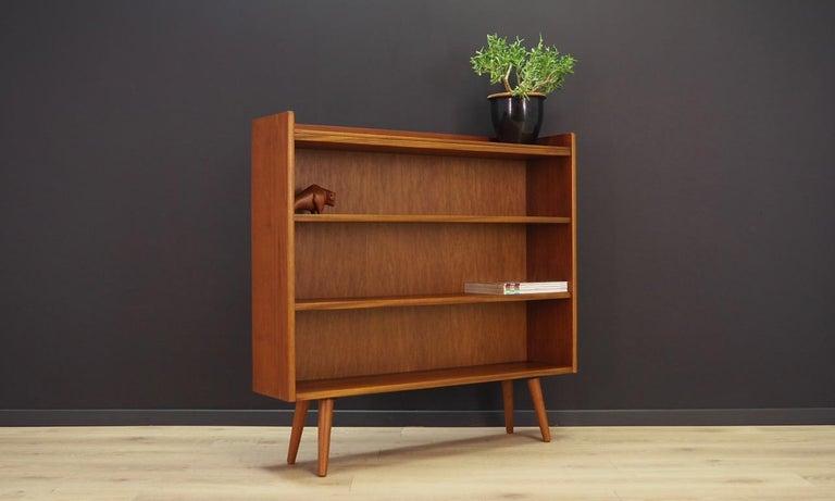 Scandinavian Modern Retro Bookcase 1960-1970 Teak Danish Design