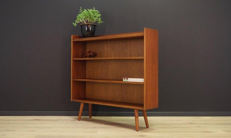 Scandinavian Retro Bookcase 1960-1970 Teak Danish Design