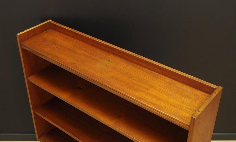 Veneer Retro Bookcase 1960-1970 Teak Danish Design