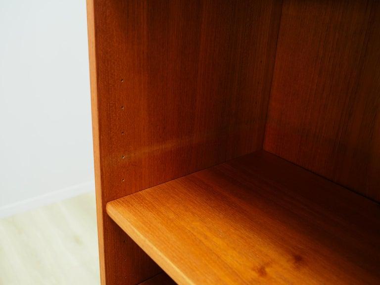 Retro Bookcase Scandinavian Design Teak For Sale 1