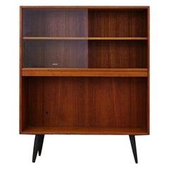 Retro Bookcase Teak Danish Design Vintage, 1960s