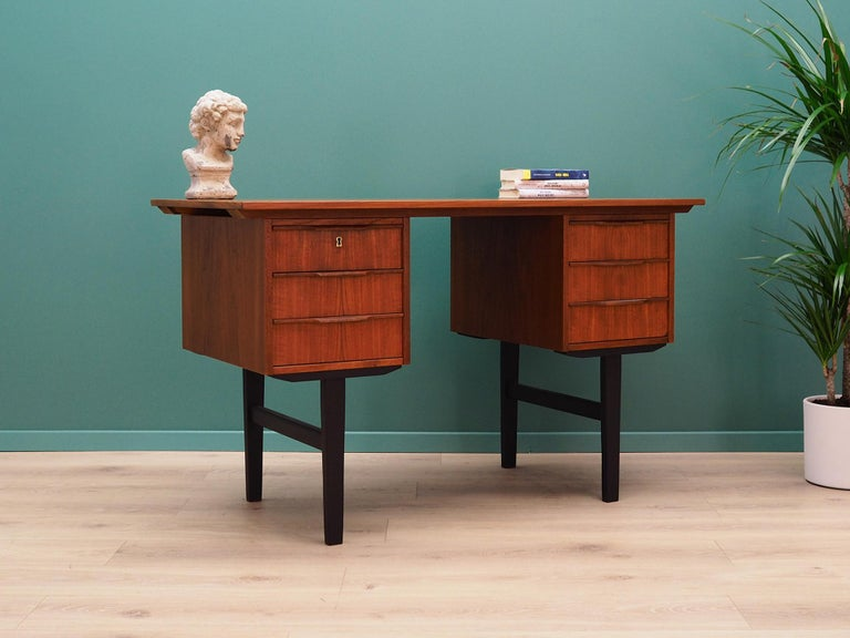 Scandinavian Modern Retro Desk Scandinavian Design, 1960-1970 For Sale