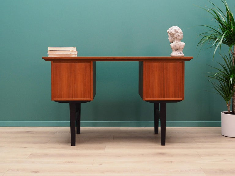 20th Century Retro Desk Scandinavian Design, 1960-1970 For Sale