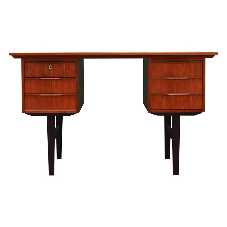 Retro Desk Scandinavian Design, 1960-1970 For Sale