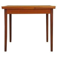 Retro Dining Table Vintage Teak, 1960-1970