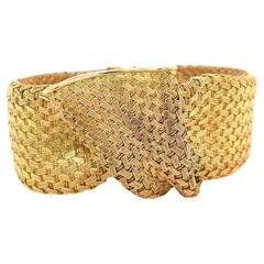 Retro French 18 Karat Gold Bracelet