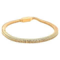 Retro Gold Tiffany Bracelet