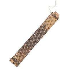 Retro Gold Wide Bracelet